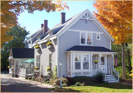 Freeport Maine Bed and breakfast fall